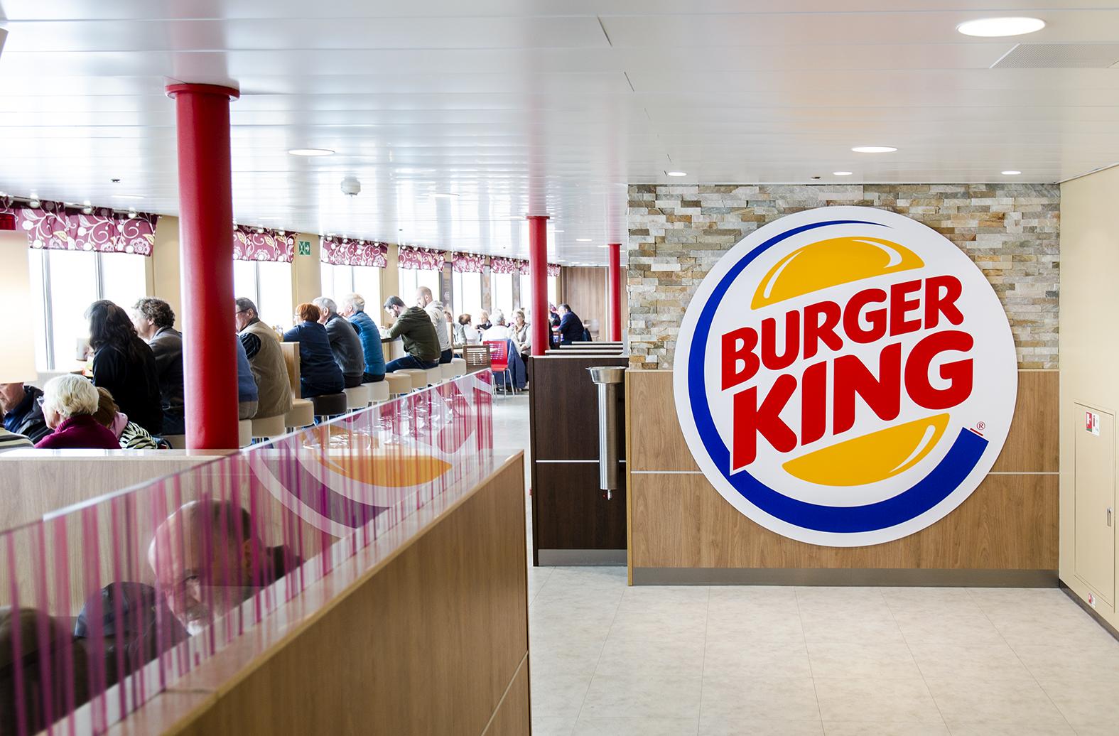 Hampurilaisravintola Burger King on sekä Tallink Starilla että Megastarilla.
