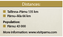 DISTANCES Parnu