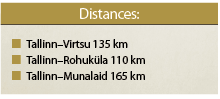 Distances West