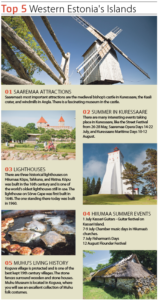 TOP 5 Westerns Estonia's Islands