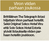 Viron viiden parhaan joukossa