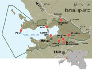 kansallispuisto kartta