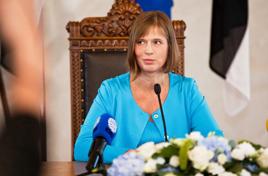 Viron presidentti Kaljulaid lähes yhtä suosittu kuin Niinistö | The Baltic Guide OnlineThe ...