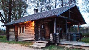 Kekkosen sauna lienee Viron legendaarisin. Nimensä se sai presidentti Kekkosen vierailusta.