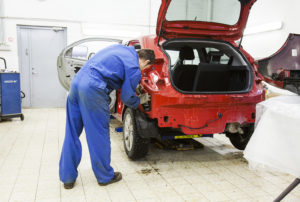 Viking Motors on keskittänyt korikorjaamonsa Tammsaaren toimipisteeseen.