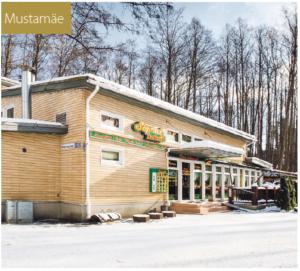 Lepistiku-puiston kupeessa sijaitseva Sõprus kohvik on paikallisten suosima ruokapaikka.
