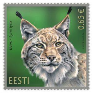 Ilves-postimerkki valittiin maailman kauneimmaksi vuonna 2017. Postimerkin on suunnitellut Indrek Ilves.
