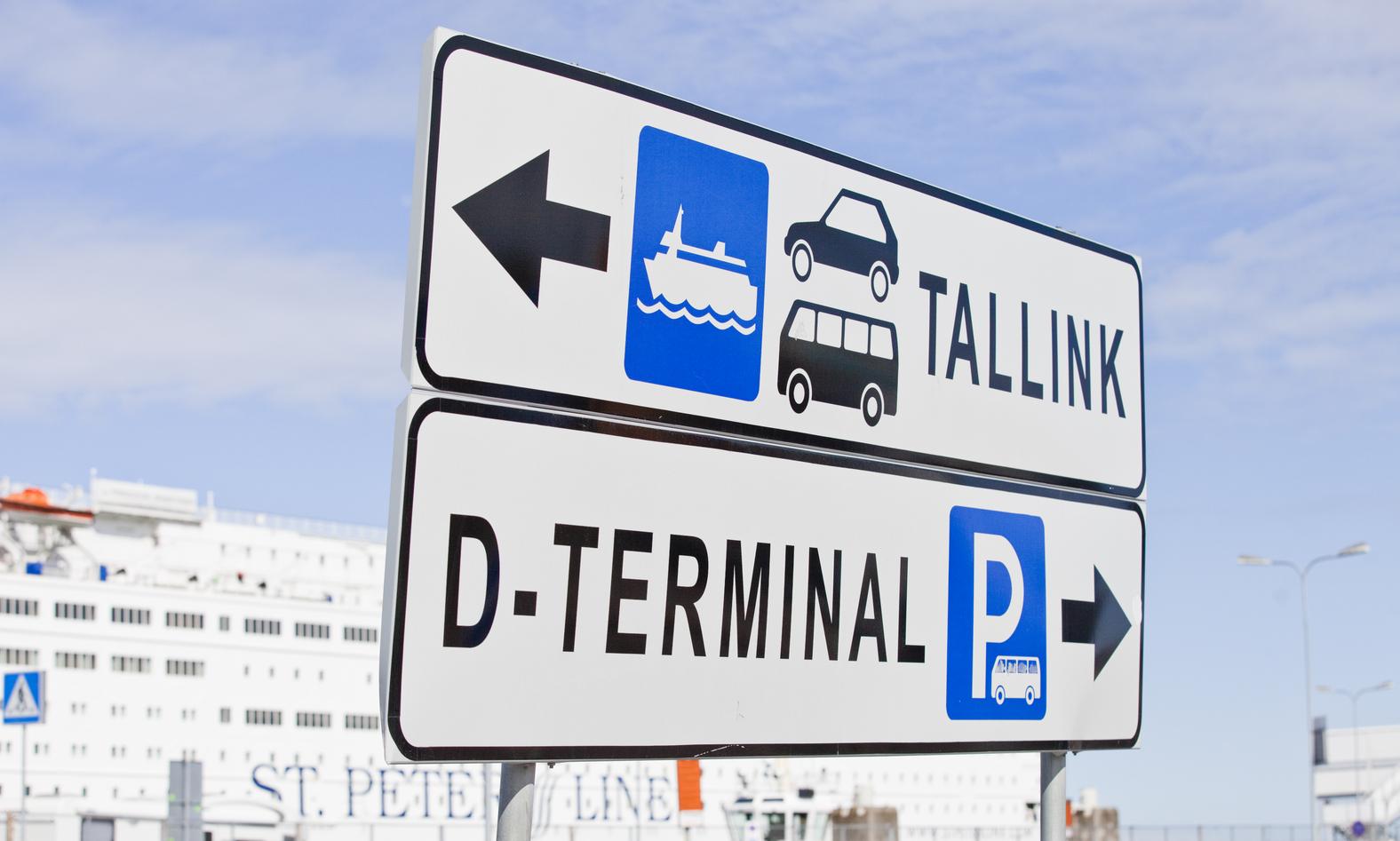 Tallinnan D Terminaalissa Kayttoon Automaattinen