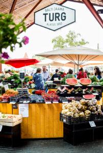 Balti Jaama Turg ja Telliskiven alue muodostavat yhdessä mielenkiintoisen kohteen matkailijoille.