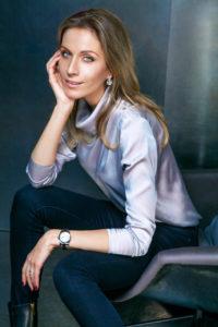 Muotisuunnittelija Diana Arno.