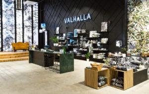 Магазин эстонского дизайнерского бренда Valhalla Living.