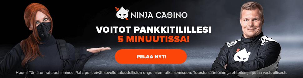 Ninja Casino 970x250