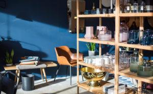 Baltian asematorin naapurissa sijaitseva Nordic Design Home on täynnä pohjoismaista laatudesignia.