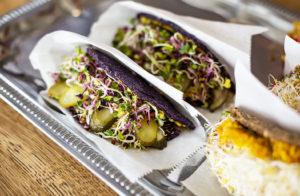 Ravintola Toormoorista saa vegaanisia wrappeja.