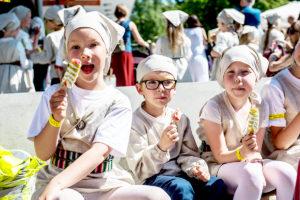 Tallinnan vanhankaupungin päivillä on paljon lapsille sopivaa ohjelmaa.