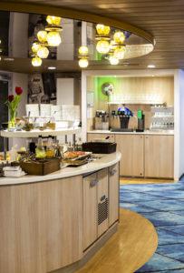 Alkuvuoden telakoinnissa myös lounge-tilat uudistettiin.