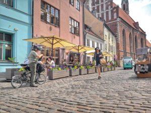 Ravintola Domini Canes sijaitsee aivan Riian vanhankaupungin sydämessä.