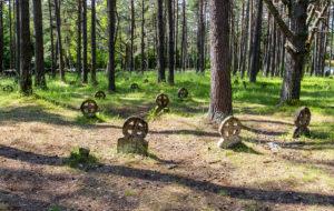 Vormsin hautausmaalla on satoja rengasristejä muistuttamassa menneistä ajoista. Missään muualla maailmassa niitä ei ole yhtä paljon.