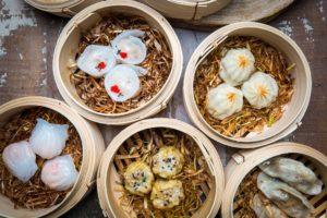 Elokuussa avatulla Dim Sum Food Clubilla on myös lounastarjouksia hintaan 5,90–7,90.