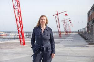 Karin Laansoo uskoo, että kulttuuri on magneetti, joka tuo ihmiset rantaan. Ensi kesänä tässä on Tallinnan merellisin terassi.