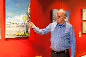 Skotlantilaisen Mark Gaskin unelma toteutui: Tallinnassa on nyt värikäs ja ihmisläheinen taidekahvila.