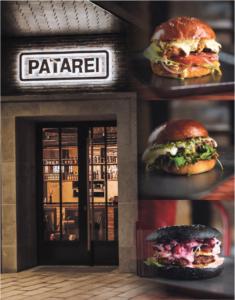 Patarei Burgerin hampurilaiset on nimetty maailman suurten vankiloiden mukaan. Asiakas voi valita, haluaako vaalean vai mustan leivän.