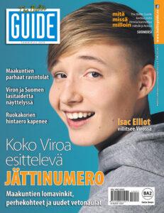 The Baltic Guiden tammikuun numeron kansi vuodelta 2015.