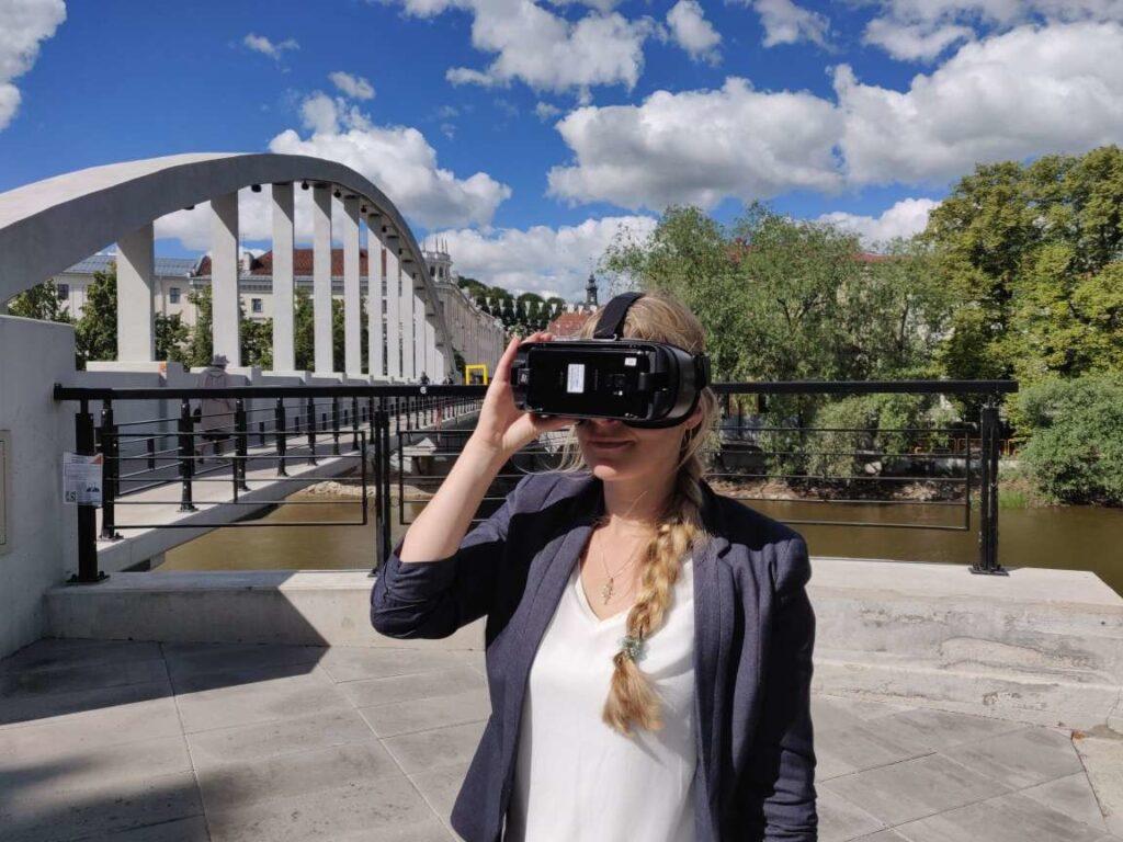Miltä näytti Tartossa vuonna 1913? Se selviää virtuaalitodellisuuslasit päässä tehtävillä kävelykierroksilla.