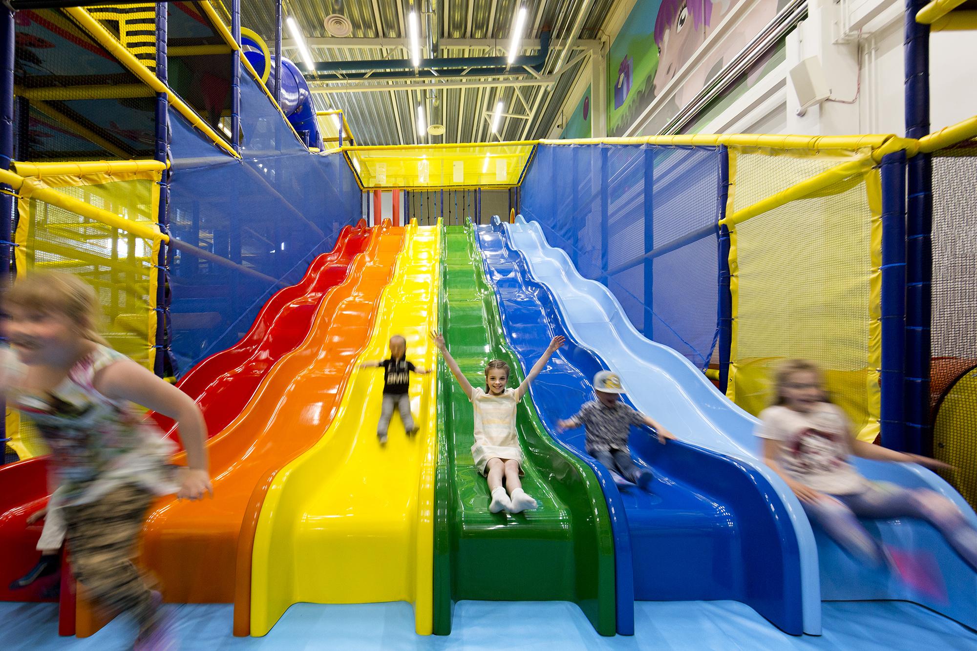 Lapsille on Ülemiste-keskuksessa paljon tekemistä.